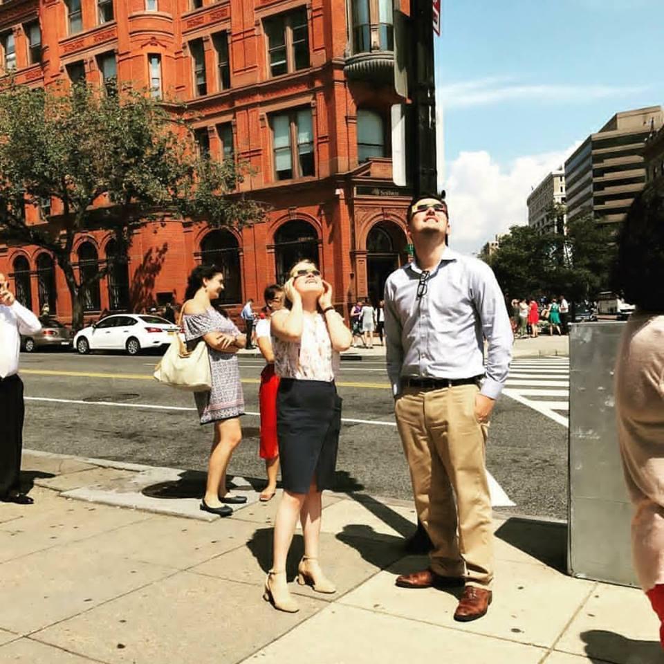 BAU Community Views Solar Eclipse 2017!